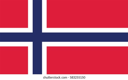 Flag of Norway. Vector illustration of icon. page symbol for your web site design Norway flag logo, app, UI. Norway flag Vector illustration, EPS10.