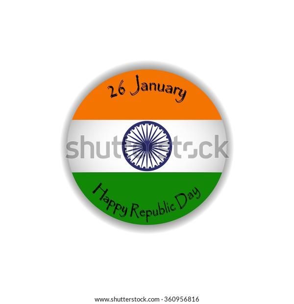 flag of, logo, Republic Day of India