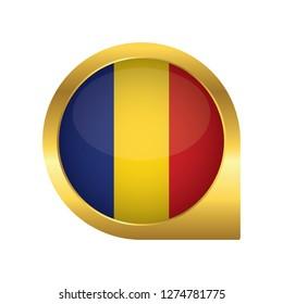 Romania Map Pin Images, Stock Photos & Vectors   Shutterstock