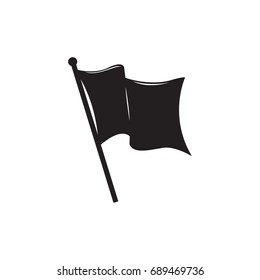 flag silhouette vector sign symbol