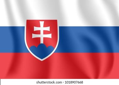 Slovakia Flag Images, Stock Photos & Vectors | Shutterstock