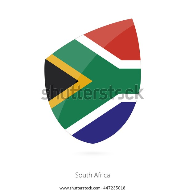 Vector De Stock Libre De Regalías Sobre Flag South Africa