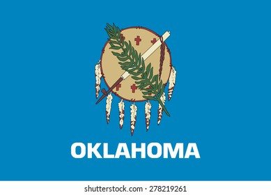 flag of state oklahoma