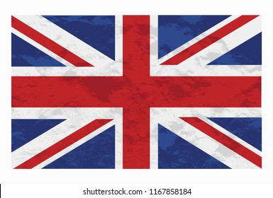 Flag of the United Kingdom. The flag of the United Kingdom of Great Britain and Northern Ireland is a combination of more flags.