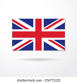 The flag of the United Kingdom of Great Britain and Northern Ireland
