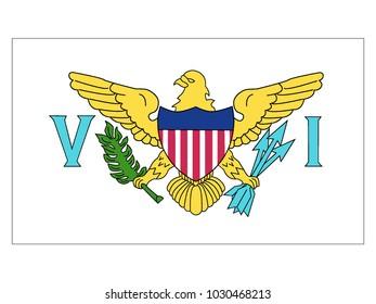Flag of United States Virgin Islands