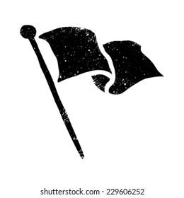 Flag Waving Vector Icon