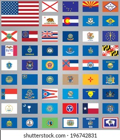 Flags of American States