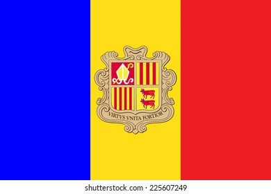 Flags of andorra