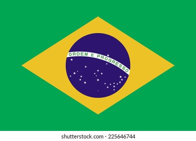 Flags of brazil