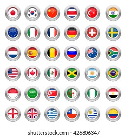 Flags of graphic material
