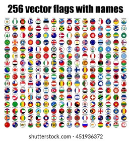 International flags stock illustrations images vectors shutterstock flags of the world round icons slovenia vector illustration freerunsca Image collections