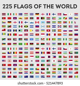 Flags of the world Vector Graphics