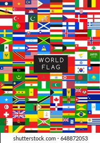 Flags of the world : Vector Illustration