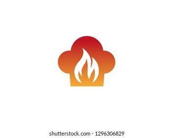 flame of fire inside smolder logo