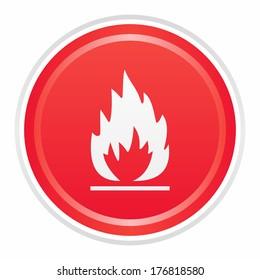 Flames (GL proj, RED)