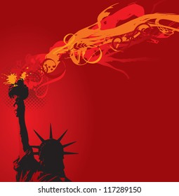 The Flames of Liberty