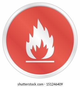 Flames - vector illustration