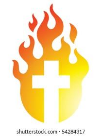 Flaming Cross