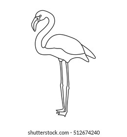 Outline flamingo bird Images Stock Photos Vectors Shutterstock