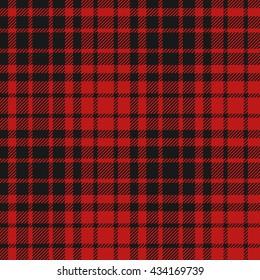 Flannel pattern seamless vector illustration