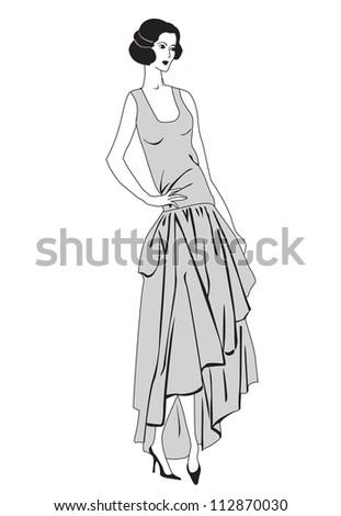 Flapper girls 20s style