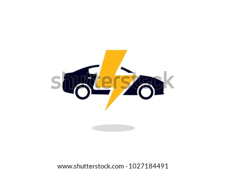 flash car logo design template element stock vector royalty free