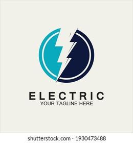 Flash Electric Logo Vector icon illustration design template. Bolt Energy Icon.electric logo flash vector bolt