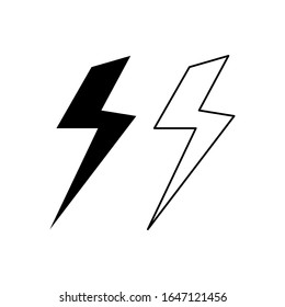 lightning thunder stock vectors images vector art shutterstock shutterstock