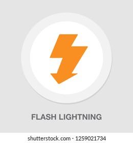 flash lightning icon