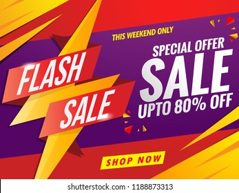 flash sale banner template.super promotion