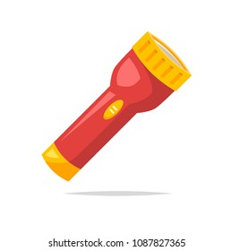 Flashlight vector isolated