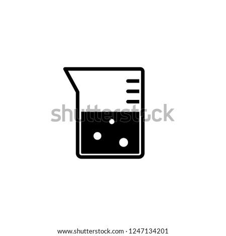 Flask Icon Editable Vector 64 X 64 Pixel Stock Vector (Royalty Free