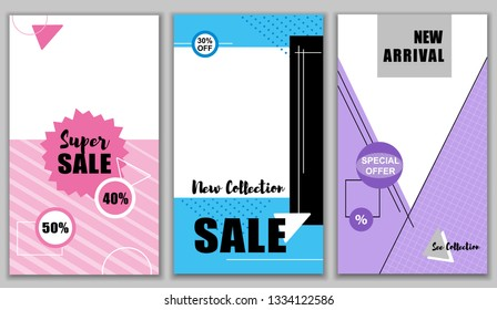 Flat Banner Super Sale New 40 50 Percent Collection 30 Off. Set New Arrival. Special Offers watch Entire Price. Latest Discounts Online. Billboard latest Lucrative Offers. Vector Illustration.
