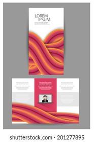 Flat Brochure design