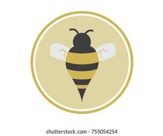 Flat Bumblebee Icon
