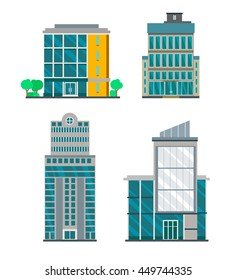 Flat Business Buildings