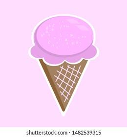 Cute Cartoon Ice Cream Images Stock Photos Vectors