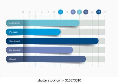 Vectores, imágenes y arte vectorial de stock sobre Bar Graph