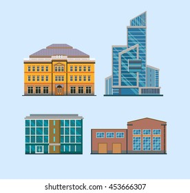 Flat City Buildings