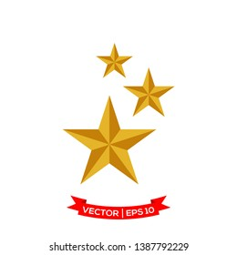 flat design best vector of star icon