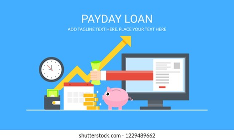 Payday Loans Images, Stock Photos & Vectors | Shutterstock