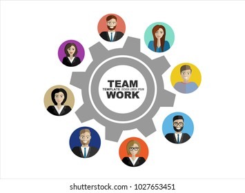Flat design illustration concepts for business analysis and planning, consulting, team work, project management, financial report and strategy . Concepts web banner and printed materials.