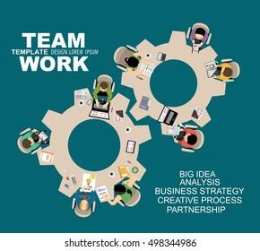 Concetti illustrativi di design per analisi e pianificazione aziendale, consulenza, lavoro di squadra, project management, report finanziari e strategia. Concetti web banner e materiali stampati.