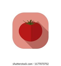 Flat design tomato