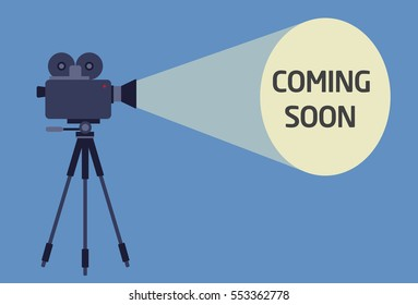 Flat Design of Video Camera With Light Beam Projection