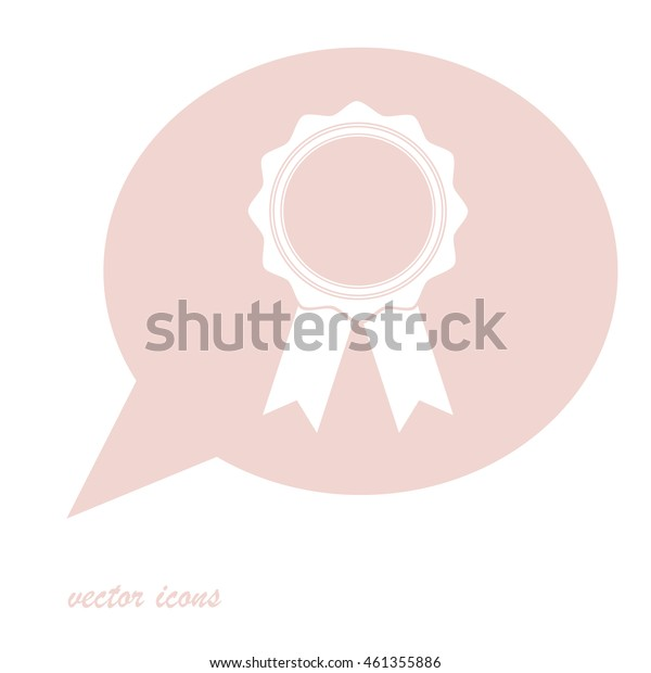 Flat design of Web Stickers