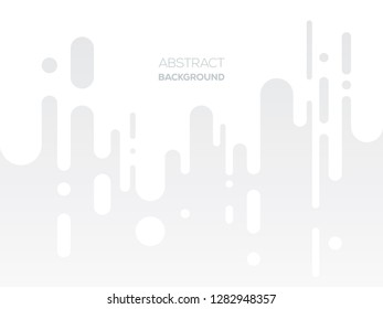 Flat Dripping Paints Background Design