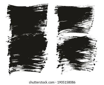 Flat Fan Brush Regular Long Background Mix High Detail Abstract Vector Background Mix Set