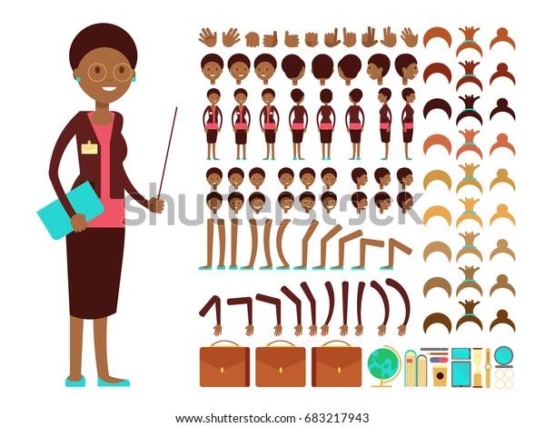 Pointer Clipart Pretty Teacher - Female Teacher Clipart - Free Transparent  PNG Clipart Images Download